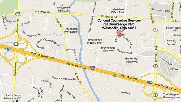 Concord Counseling Services location